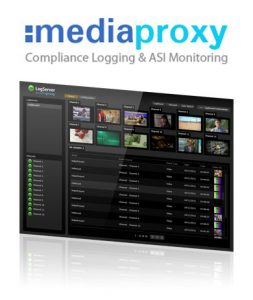 XENON Mediaproxy Logserver Screenshot