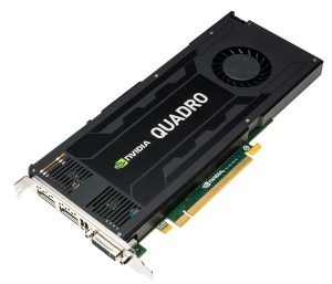 XENON NVIDIA Quadro K4200 3qtr