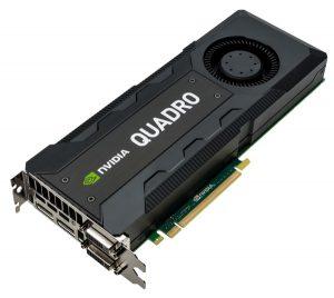XENON NVIDIA Quadro K5200 3qtr