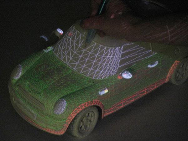XENON UNISA Spatial Augmented Reality