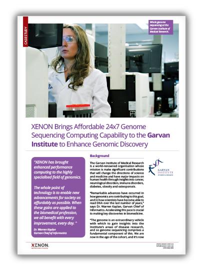 XENON Garvan Case study thumbnail