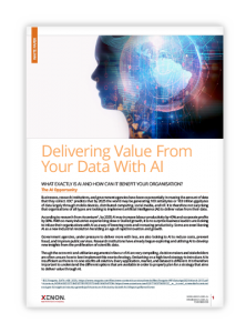 XENON Delivering Value From Your Data With AI