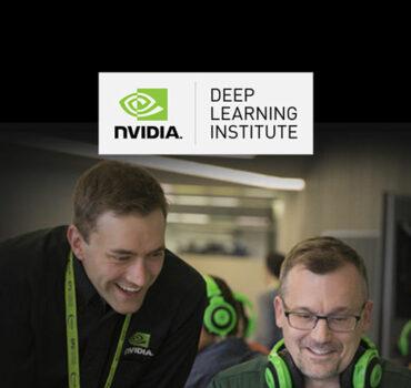 XENON NVIDIA Multiple Data Types Deep Learning Workshop banner