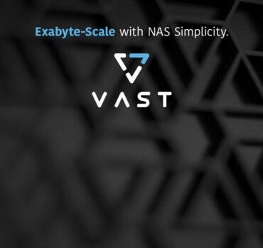 XENON VAST Exabyte Scale banner
