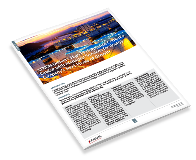 XENON Managed HPC Services for Multinational Energy Company Case Study thumbnail