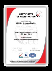 XENON GCC Certificate thumbnail