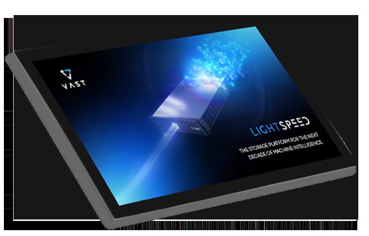 XENON LightSpeed EBook VAST Data thumbnail