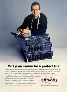 XENON Vintage Server Poster